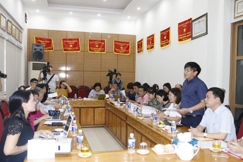 Toàn cảnh buổi gặp mặt báo chí và cung cấp thông tin y tế